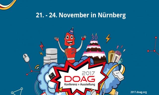 DOAG Konferenz und Ausstellung 2017 – ORDIX freut sich drauf!