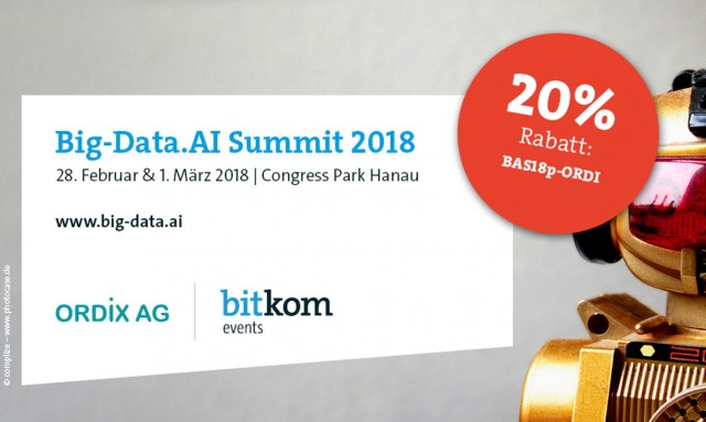 ORDIX auf dem Big-Data Summit 2018 - Fast analytics on fast data - Kudu als Storage Layer für Banking Applikationen