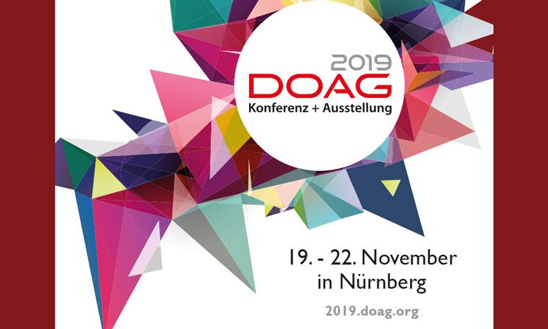 DOAG Konferenz + Ausstellung und Schulungstag 2019